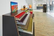 Scheuermanns Bodengalerie auf mehr als 500 Quadratmetern. (Bild: PD)