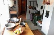 Die Küche im Schwärzerles-Theres-Hus zeigt, wie Ahna und Ahni anno dazumal kochten. (Bild: pd)
