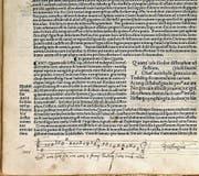 Selbst Vadian war musikalisch: Der vierstimmige Notensatz stammt vom St.Galler Reformator und ist seine einzige bekannte Musikaufzeichnung. (Bild: Kantonsbibliothek Vadiana)