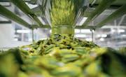 Nestlé ist im Swiss Market Index am stärksten gewichtet. Hier wird Nesquik-Süssware verpackt. (Bild: Andrey Rudakov/Bloomberg (Samara, 16.9.2014))