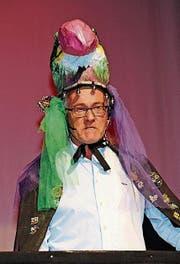 Erwin Schmuck, der neugewählte Ehren-Möbü im traditionellen Umhang. (Bild: PD)
