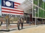 Der US-Pavillon an der Weltausstellung 2015 in Mailand. (Bild: PD)