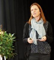 Die neue Institutionsleiterin Susanne Heuberger berichtet noch nicht über die ersten 100 Tage, aber über die ersten 10 Wochen. (Bild: Peter Küpfer)