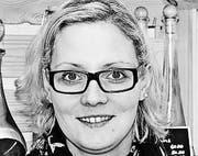 Janine Polster Verkäuferin Dorfladen Häggenschwil