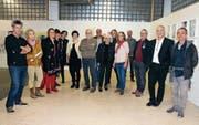 Künstler aus Vorarlberg stellten Anfang Oktober in der Galerie Art dOséra in Diepoldsau aus. (Bild: Archiv/Susi Miara)