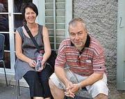 Aus Altstätten gekommen: Jeanine und Thomas Köppel.