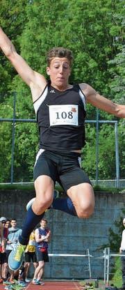 Fünf Medaillen gab es für Simon Ehammer, zwei davon Gold. Bild: APZ (Bild: PD)