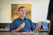 Peter Jans ist derzeit der einzige SP-Vertreter im Stadtrat. (Archivbild: Hanspeter Schiess)