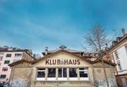 Das Spanische Klubhaus hinter dem Bahnhof. Es wird für die nächsten 10 bis 15 Jahren in Schuss gebracht. (Bild: Urs Bucher (25. Januar 2018))
