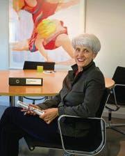 Am zweitletzten Arbeitstag: Schuldirektorin Barbara Eberhard in ihrem Büro. (Bild: Ralph Ribi)
