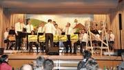 Die Musikgesellschaft Mühlrüti führt ihre Unterhaltung diesen Samstag erneut auf. (Bild: PD0)