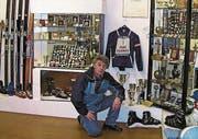 Noldi Beck ist der Gründer des Skimuseums Vaduz. Er ist 2014 gestorben. (Bild: Liechtensteinisches Landesarchiv)