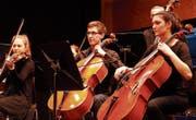Entspannt-gespannt: Das Jugendensemble Il Mosaico vereinigt musikalische Präzision mit Spielfreude. (Bild: Peter Küpfer)