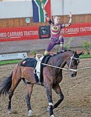 Daria Gallo war auf Aroc an der Longe von Corinne Bosshart erfolgreich. (Bild: PD)