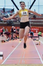 Nicole Höhener zeigte einen guten Wettkampf. (Bild: Urs Siegwart)