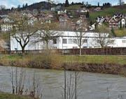 Die Rietsteinhalle, der daneben geplante Campus und damit verbundene weitere Projekte beschäftigen den Wattwiler Gemeinderat. (Bild: Anina Rütsche)