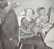 Professor Michael Radulescu (links) vermittelte vor 20 Jahren mit Orgelkonzert und Seminar neue Impulse.