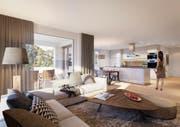 In Rorschacherberg erstellt die Relesta AG 20 moderne Eigentumswohnungen. (Bild: PD)