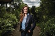 Maria Pappa, Sprengkandidatin der SP für die St. Galler Stadtratswahlen vom Herbst. (Bild: Benjamin Manser)