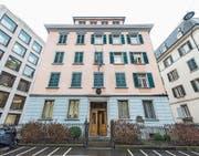 Das ehemalige italienische Konsulat an der Frongartenstrasse wird bald kulturell zwischengenutzt. (Bild: Hanspeter Schiess (28. April 2014))