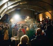 Ausverkauftes Abschlusskonzert am Samstag mit dem Pullup Orchestra am Kulturfestival. (Bild: Urs Jaudas)