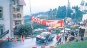 Im Jahr 1975 startete Armin Buschor erstmals in Walzenhausen – mit einem BMW 2002. (Bilder: Archiv/pd)