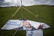 Einmal mehr hat die CVP auf den falschen Trumpf gesetzt: Ihr Kandidat Daniel Lehmann unterliegt klar gegen den parteilosen Konkurrenten Wolfgang Giella. (Bild: Ralph Ribi)