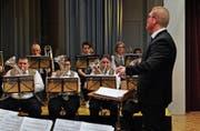 Die BMG überzeugte mit Märschen und Polkas. (Bild: Ramona Riedener)