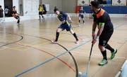 Dominik Spirig lanciert seine Mitspieler zu einem Angriff. (Bild: pd)