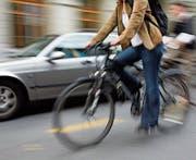 Die meisten Unfälle von Velofahrern sind selbst verschuldet. (Bild: Yoshiko Kusano /KEY)
