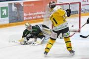 Lars Neher wird nicht mehr für die Thurgauer Tore erzielen wie hier gegen Olten. (Bild: Urs Lindt/freshfocus)