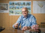 Die rege Bautätigkeit im Augarten-Ebnet in Andwil hat Stefan Lenherr zu seinem Rücktritt aus dem Stadtrat veranlasst. (Bild: Urs Bucher)