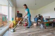 Für die neugegründete Firma Ipaster sind schon vor dem offiziellen Betriebsstart Reinigungskräfte gebucht worden. (Bilder: Hanspeter Schiess)