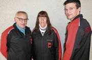 Erstmals trugen Mitarbeiter des Heldsbergmuseums die neuen Jacken anstelle der bisherigen militärischen Gebirgsblusen. (Bild: pd)