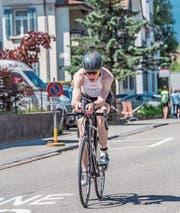 Dem Triathlon verfallen: Cyrill Knechtle trainiert fast jeden Tag. (Bild: PD/Roman Jäger)