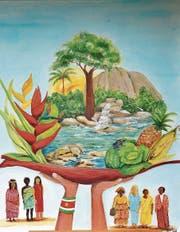 Das Titelbild des Liturgieheftes zum Weltgebetstag der Frauen mahnt dazu, die Umwelt zu schützen. (Bild: pd)