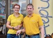 Andrea und Steffen Höppner geben die Geschäftstätigkeit bei der Bäckerei Alpiger auf und schliessen die Läden in Wildhaus und Unterwasser. (Bild: Sabine Schmid)