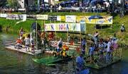 Die Kanalregatta zog auch letztes Jahr viele Zuschauer an den Binnenkanal. (Bild: Bea Sutter)