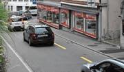 Die temporäre Sperrung der Umfahrung Lichtensteig wirkte sich auf die Statistik aus: Dort wurden weniger Fahrzeuge gezählt, im Städtli aber kam es zu Staus. (Bild: Urs M. Hemm)