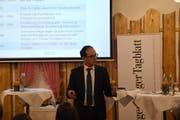 Marc Mächler, Regierungsrat FDP, Vorsteher des Baudepartements. (Bild: Urs M. Hemm)