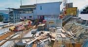 2,7 Millionen Franken kostet das neue Werk, das hier gebaut wird. (Bild: Norina Furrer)