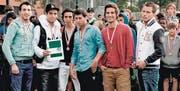 Die Sieger (v. l.): Driton Junuzi, Ogün Hot, Ali Jusefi, Mehmet Bakan, Lavdrim Bajralija und Augustin Jagustin. (Bild: pd)