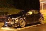 Der Lenker dieses Wagens verursachte den Unfall. (Bild: Stapo SG)