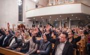 In Mörschwil stimmen die Bürger am Montag über die Zukunft des Freihofs ab. (Bild: Benjamin Manser (27. März 2017))