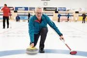 Felix Styger, Präsident des CC Herisau-Waldstatt, nimmt auch am Turnier seines Vereins teil. (Bild: MC)