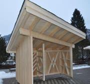 Der Ausstellungspavillon ist für den Naturschutzverein bestimmt.