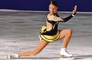 Christina Niederer ist nach souverän bestandenem Goldtest berechtigt, in der Elite zu starten. (Bild: lf)