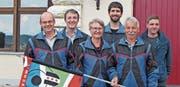 Roland Graf, Réne Künzli, Ursula Schönenberger, Thomas Berger, Paul Mäder sowie Kevin Breitenmoser (von links). (Bild: PD)