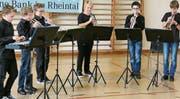 Die jungen Musikanten freuen sich auf interessierte Zuhörer. (Bild: mp)