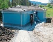 Das erweiterte Quellwasserpumpwerk Geissmatt. (Bilder: PD)